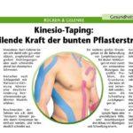 Kinesio-Taping in Heilpraktiker Praxis 82377 Penzberg