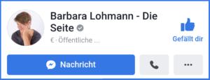 Facebookseite Schlüsselfragen Barbara Lohmann
