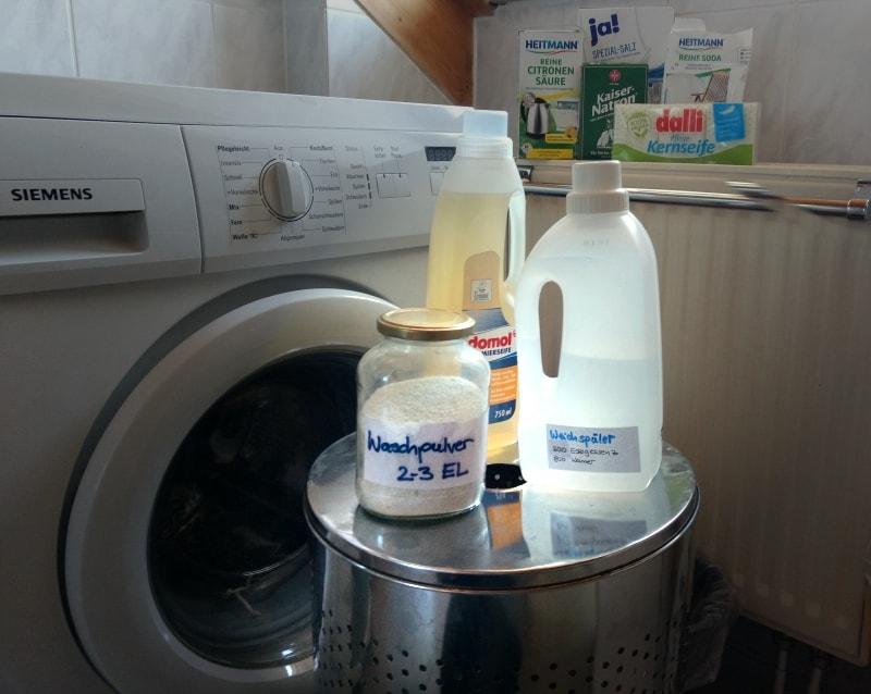 Ölogische Alternativen zu Waschmittel