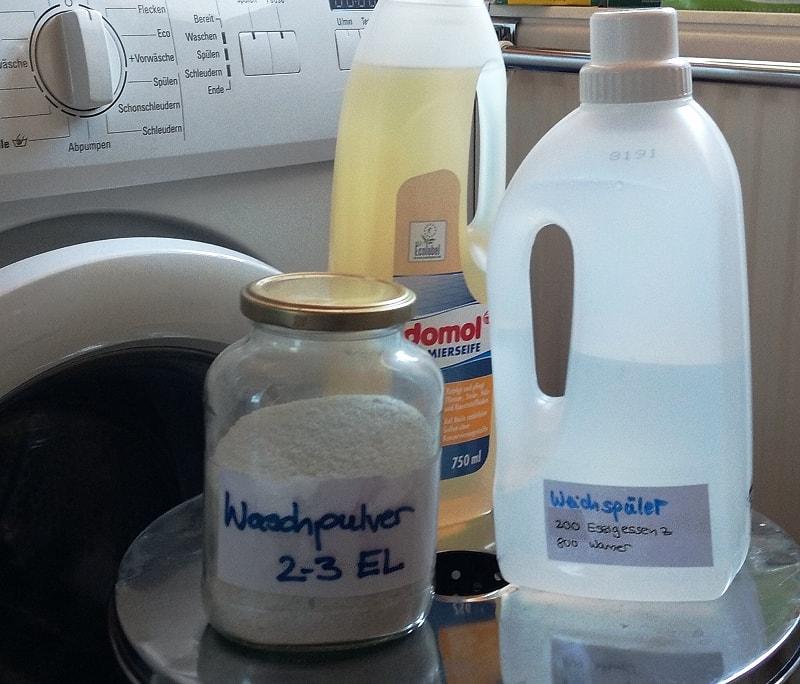 Waschmittel selbst herstellen